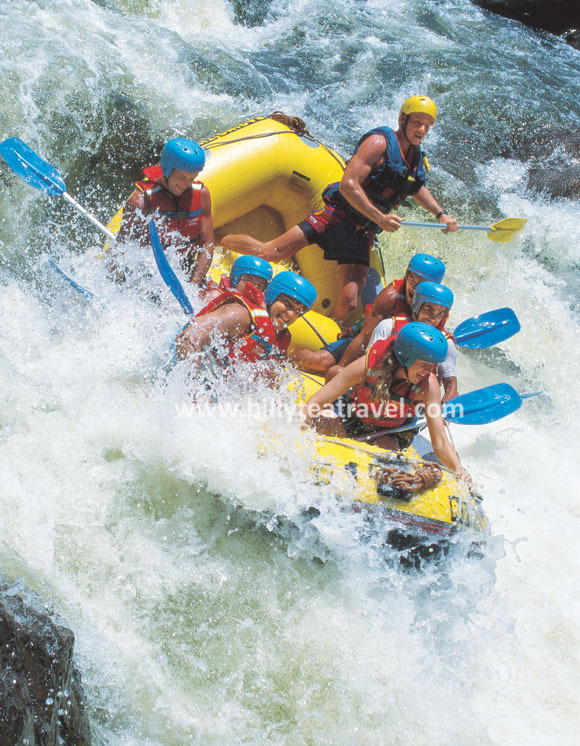 Tully River White Water Rafting Full Day